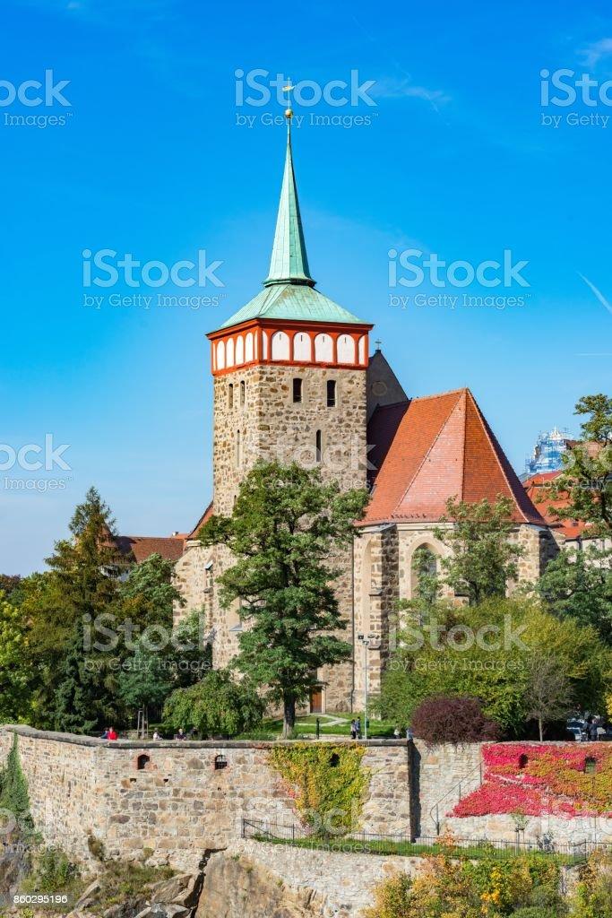 Michaeliskirche Bautzen stock photo