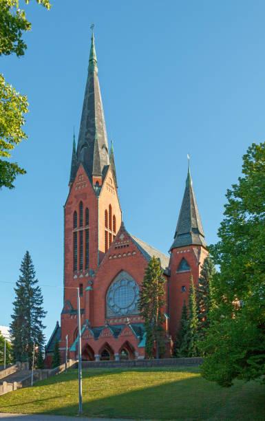Michael's Church in Turku stock photo