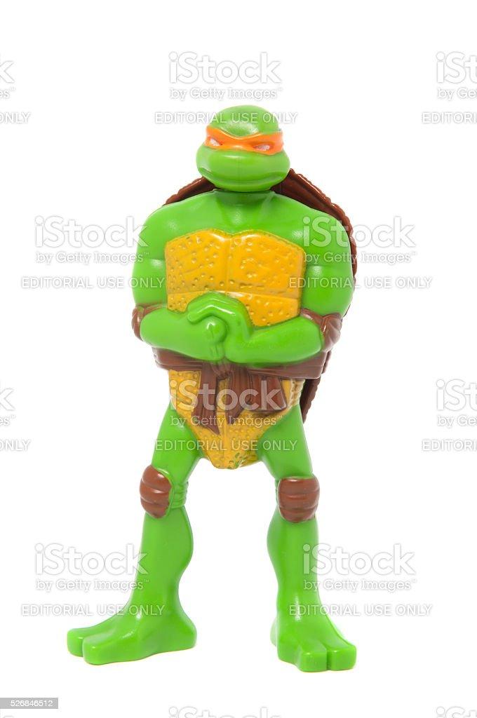 Michelangelo From Teenage Mutant Ninja Turtles Happy Meal Toy