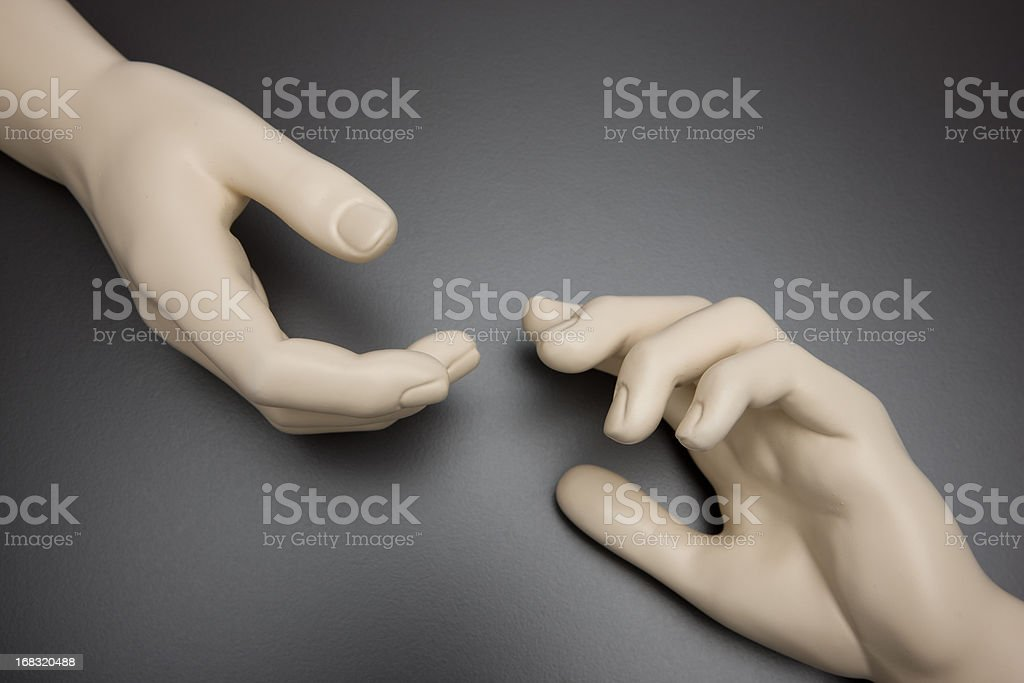 Michelangelo hand (1ds Mark III) royalty-free stock photo