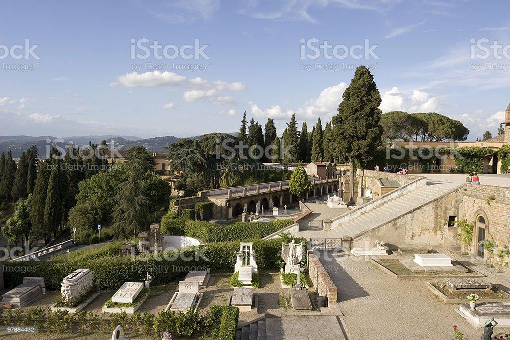 Michelangelo's Hill stock photo