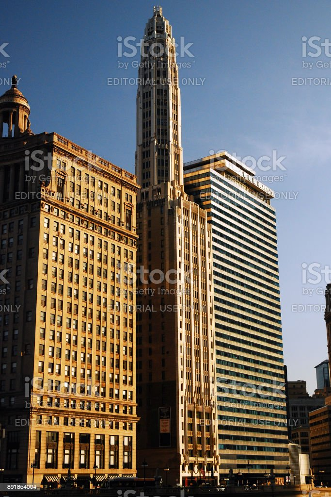 N Michigan Ave stock photo