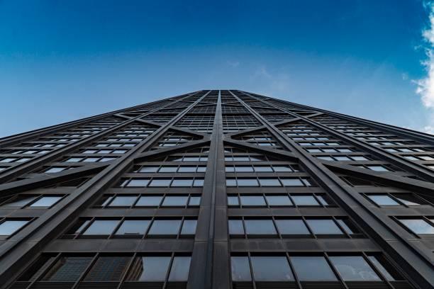 875 n michigan avenue - chicago, il - edificio hancock chicago fotografías e imágenes de stock