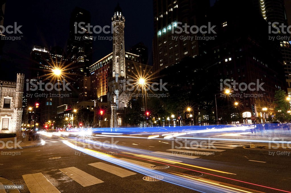 Michigan Avenue stock photo