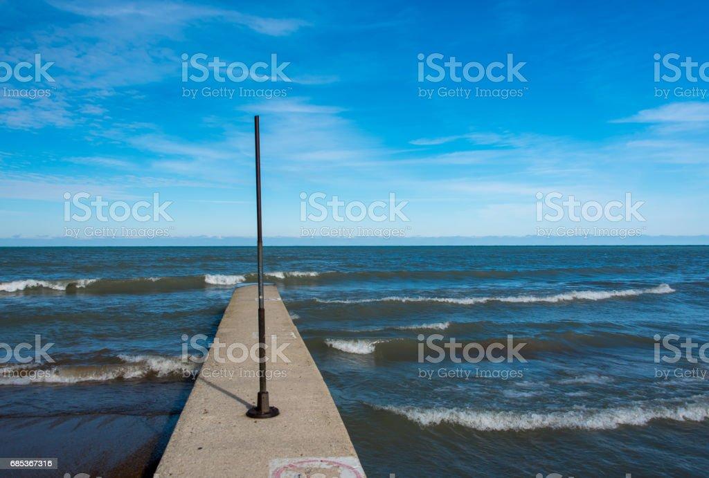 Michigan Lake foto de stock royalty-free