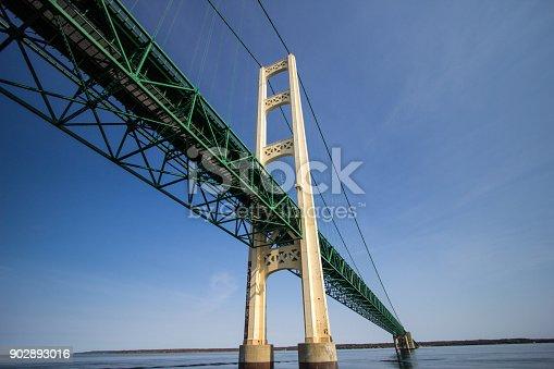 istock Michigan Mackinaw Bridge 902893016