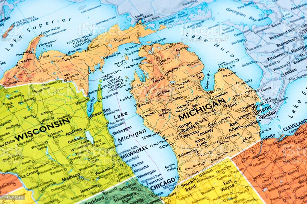 Michigan stock photo