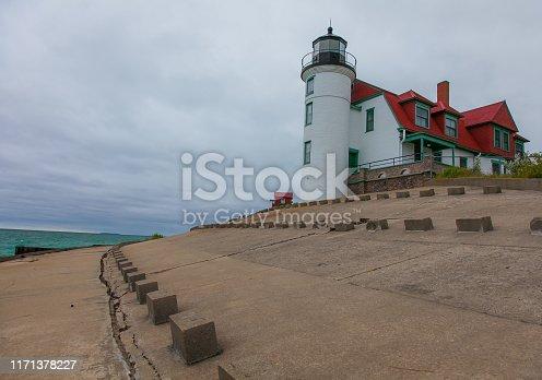 177362898 istock photo Michigan - Point Betsie Lighthouse - Sleeping Bear Dunes National Lakeshore 1171378227
