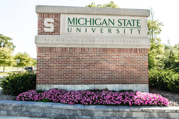 Michigan State University stock photo