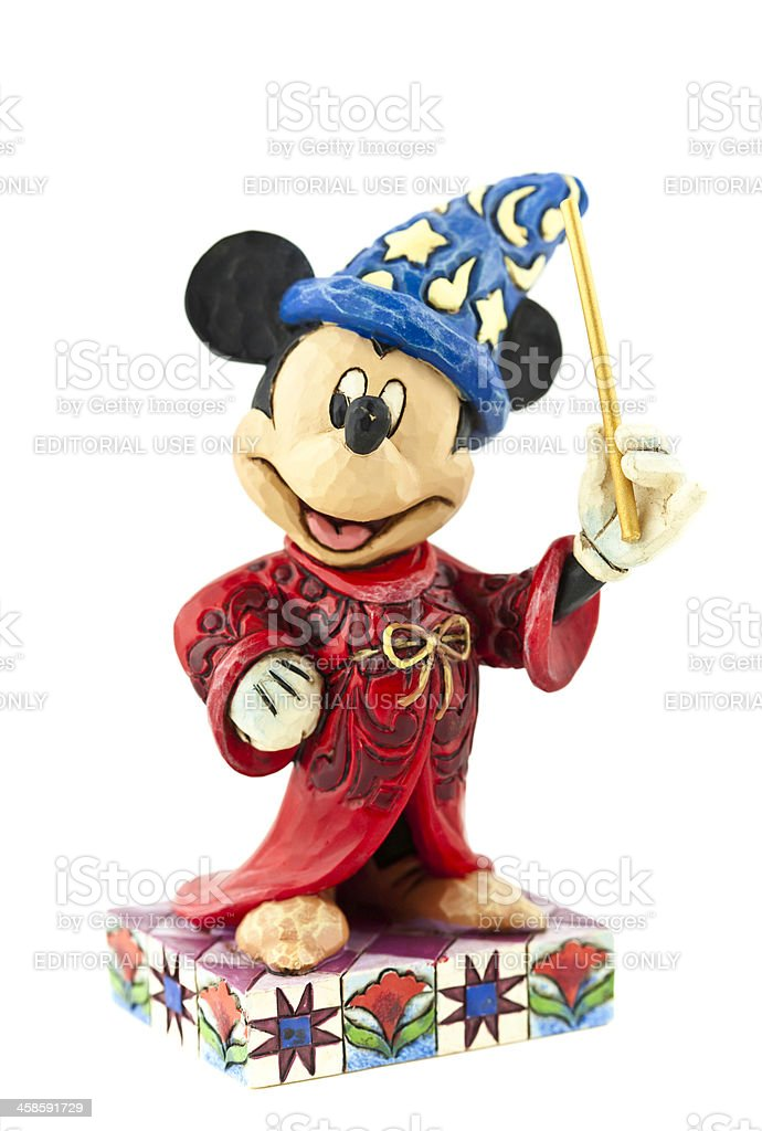 Mickey Mouse as the Sorcerer's Apprentice stock photo