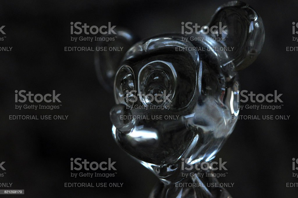 Mickey Mouse head stock photo