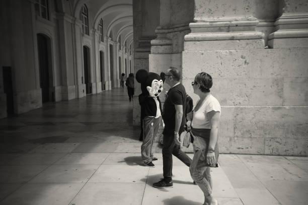 Micky Maus in Lissabon – Foto