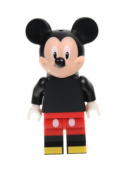 Mickey Mouse Lego Disney Series 1 Minifigure stock photo