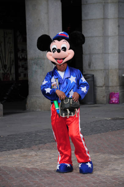 Mickey Mouse - Spain stock photo