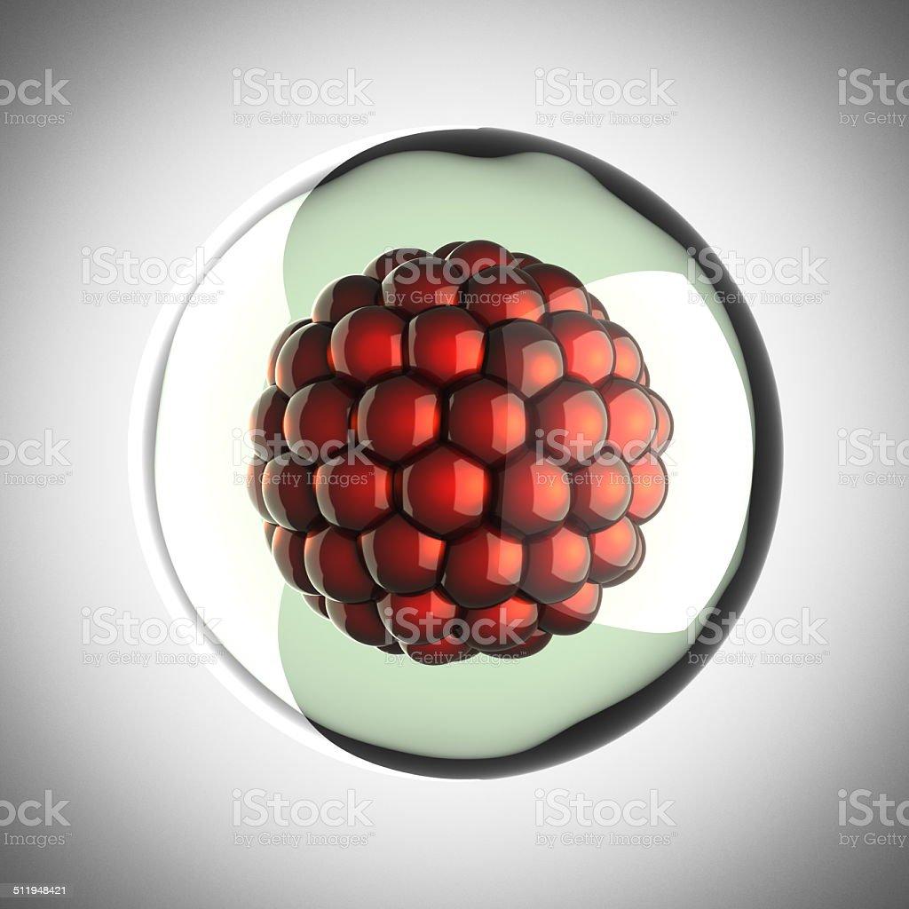 micro cell scientific illustration stock photo