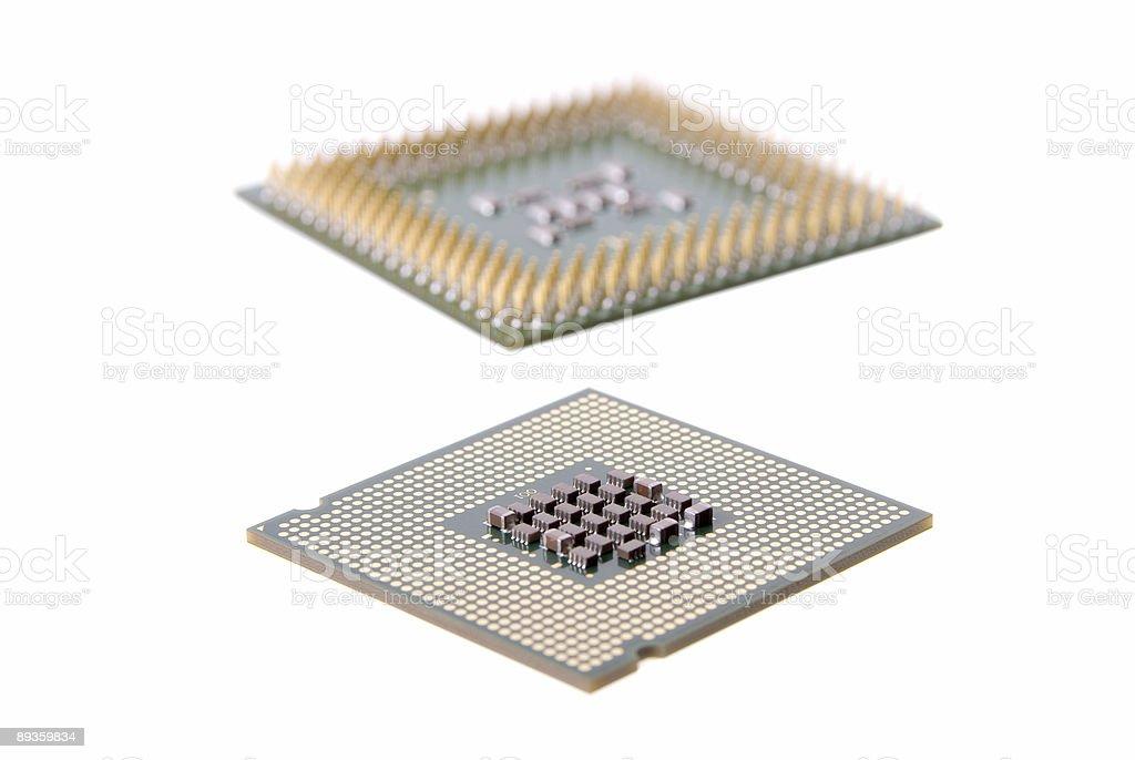 Micro Chip royaltyfri bildbanksbilder