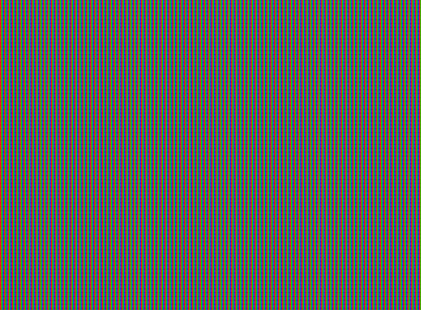Micro LED: MicroLED: RGB-LED-Monitor Pixel Closeup Makro, einzelnen roten, grünen und blauen Pixel zeigt – Foto