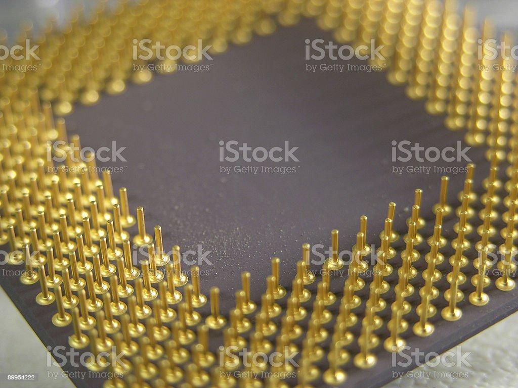 Micro Processer stock photo