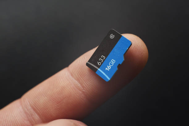 micro sd - memory card stock photos and pictures