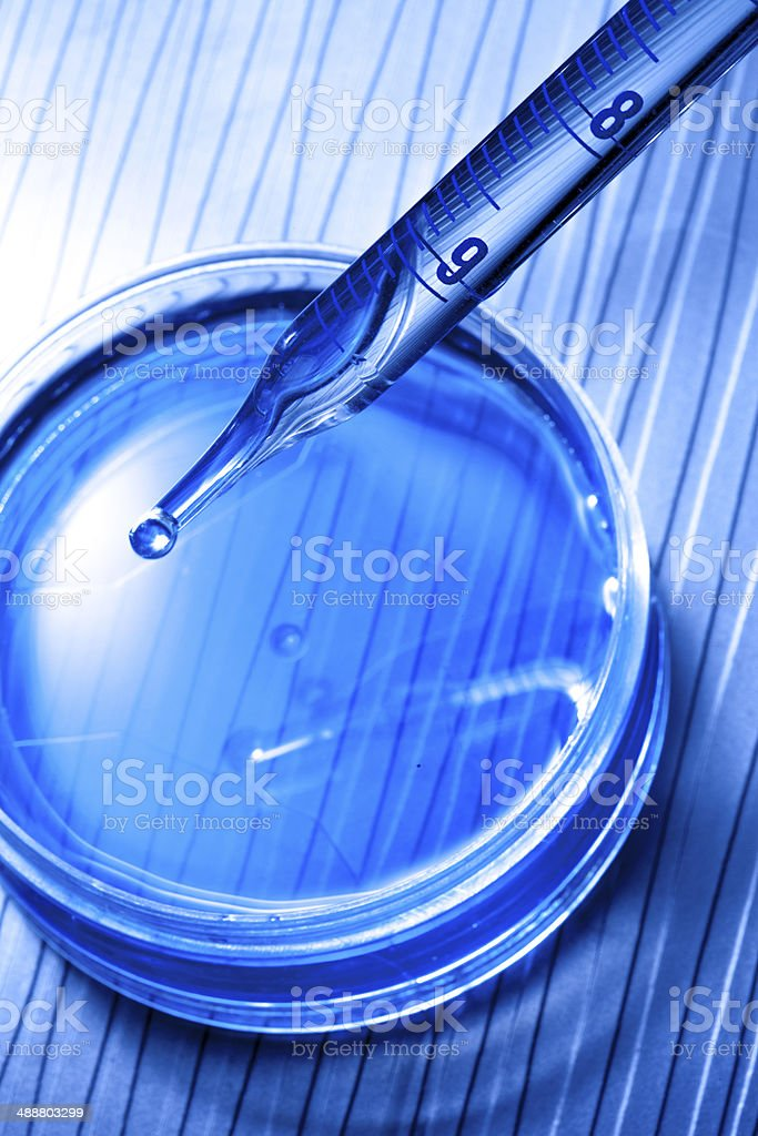 microbiology lab research royalty-free stock photo