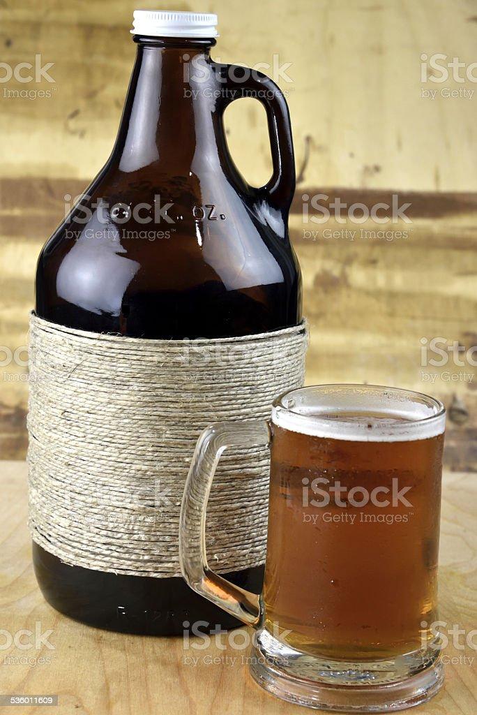 Microbrew Beer stock photo