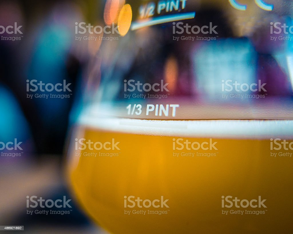Microbrewery Beer stock photo