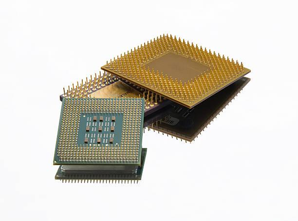 Microchips stock photo