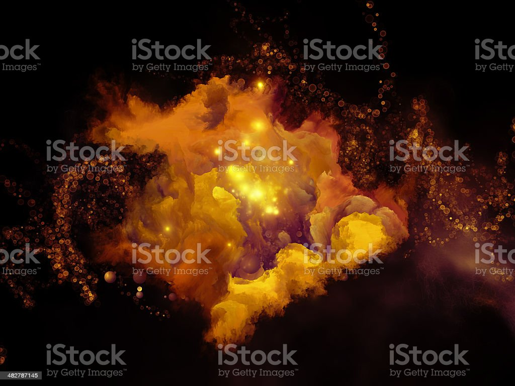 Microcosm Backdrop stock photo