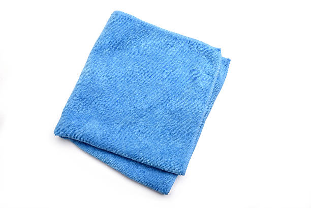 microfiber cleaning cloth - rag stock pictures, royalty-free photos & images
