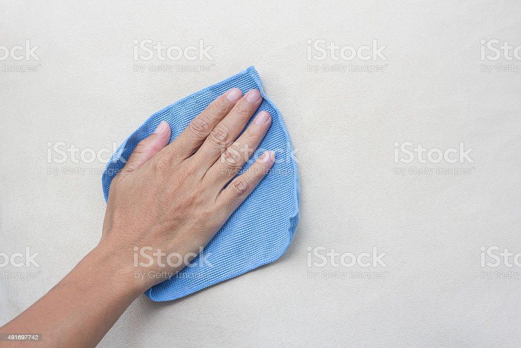 Microfiber Cloth stock photo