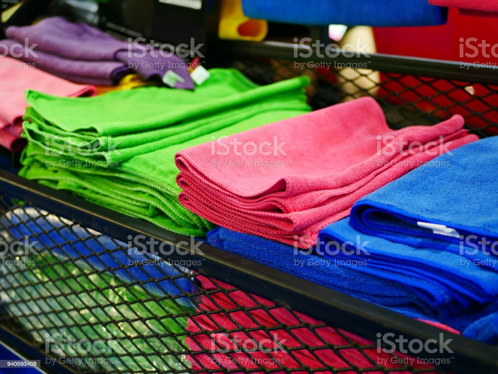 Microfiber stock photo