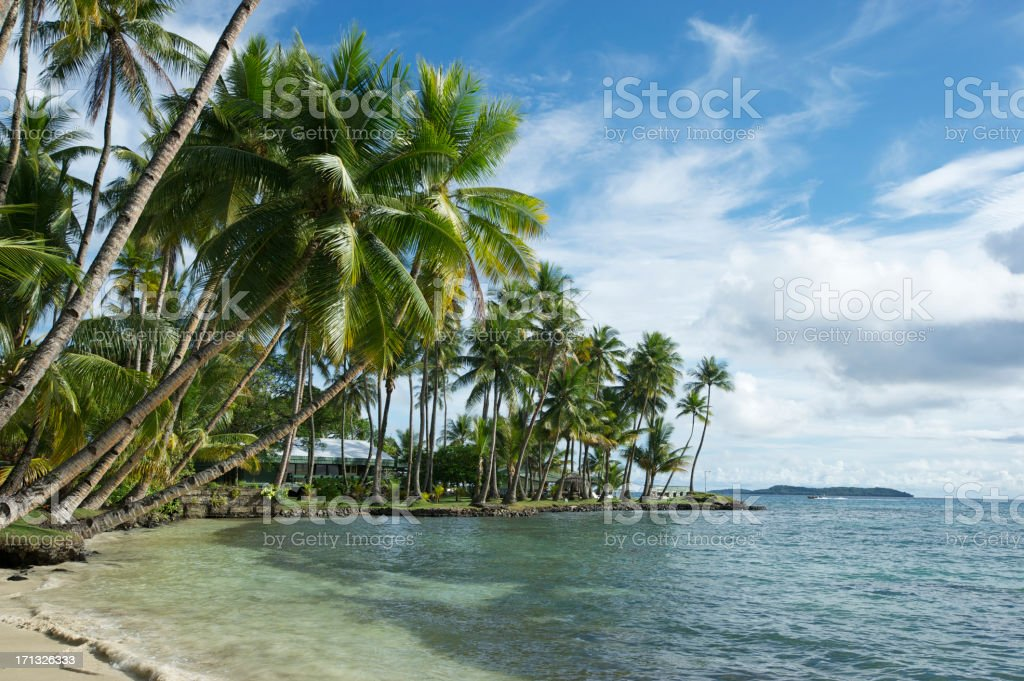 Micronesia Resort stock photo