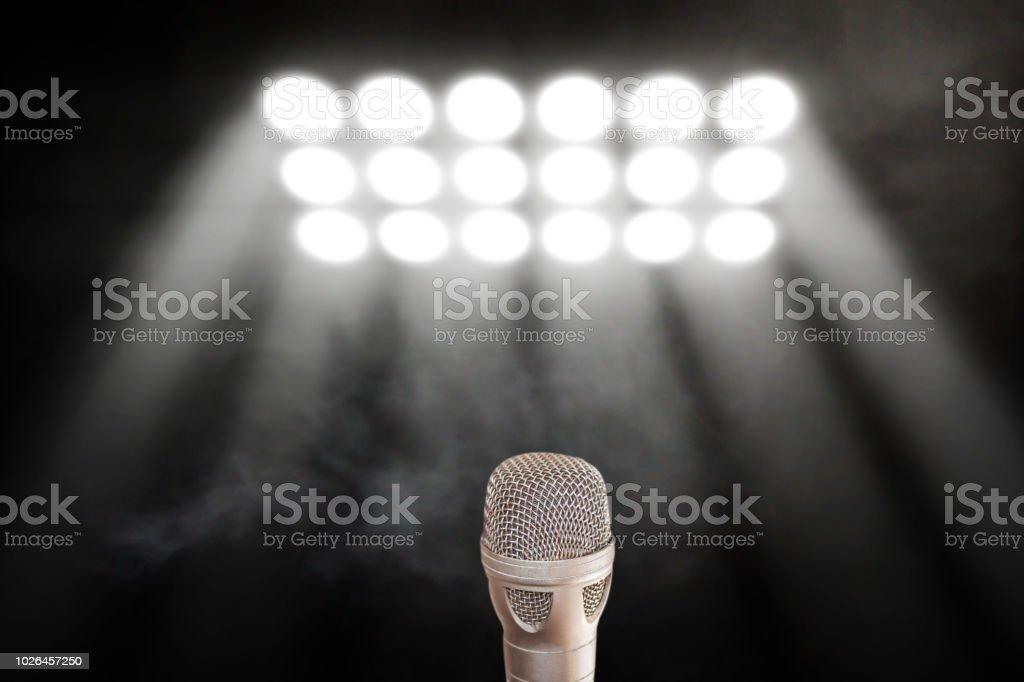 Microphone audio mixer, music equipment