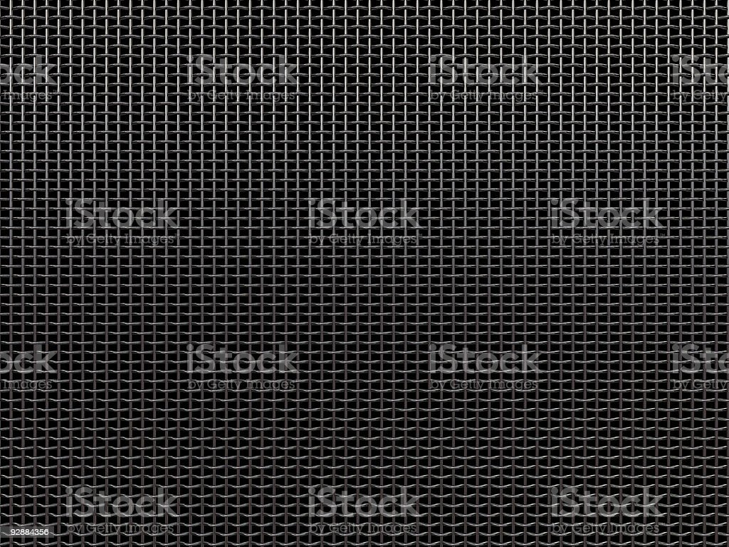 Microphone grille stock photo