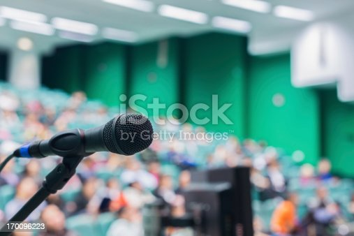 491577806 istock photo Microphone in front of people 170096223