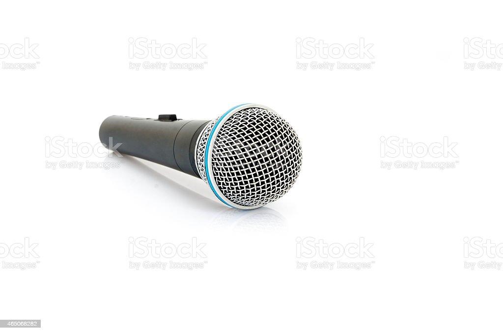 Mikrofon isolieren - Lizenzfrei 2015 Stock-Foto
