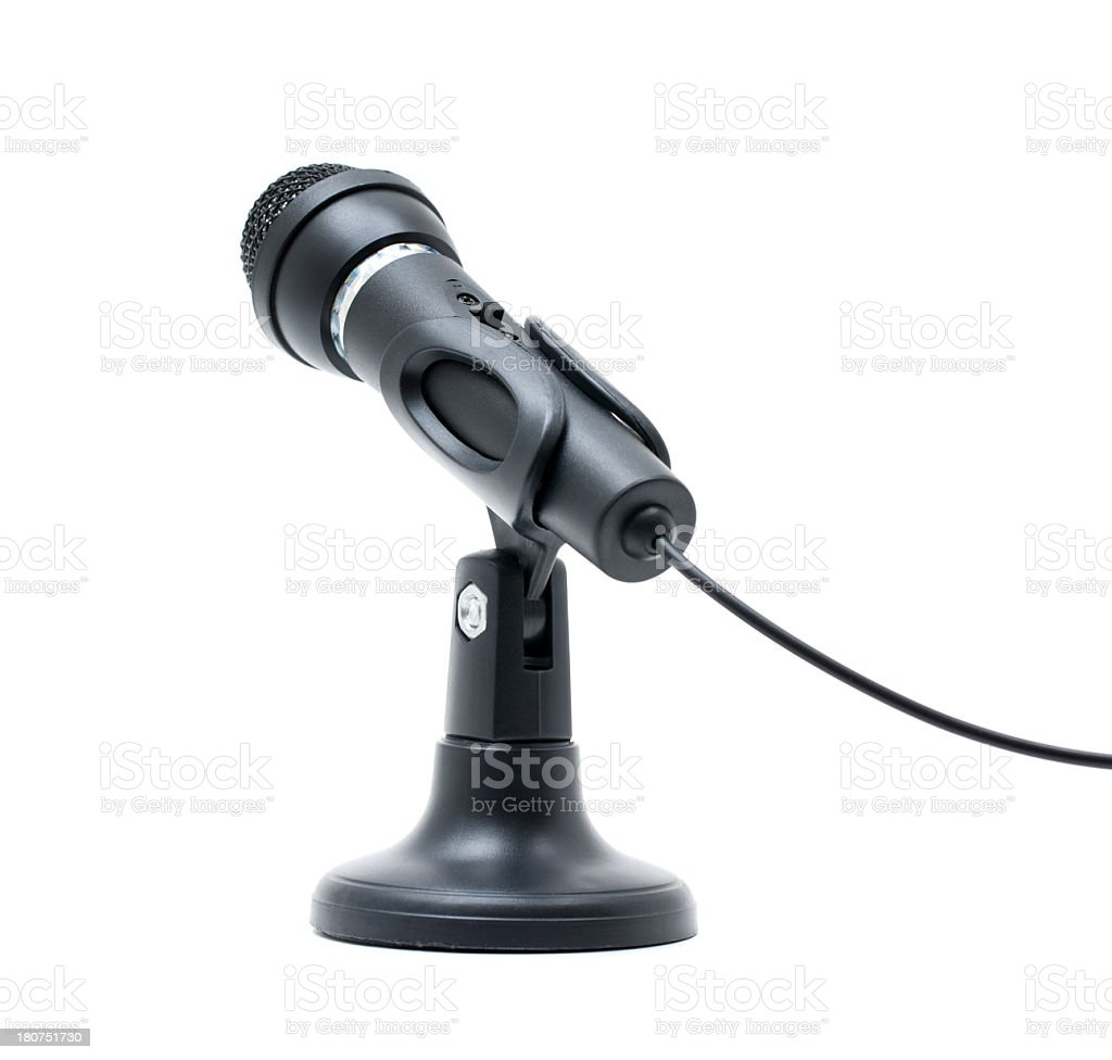 Microfone - foto de acervo