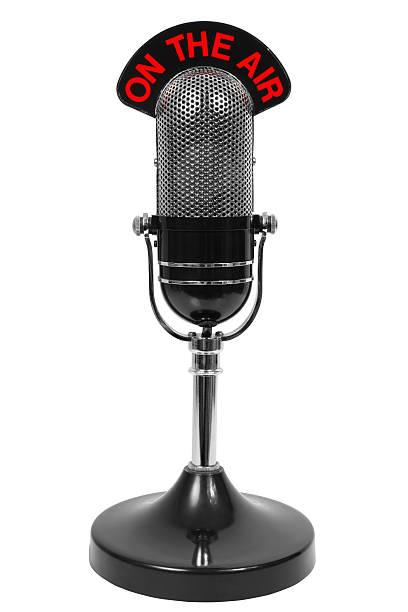microfono - radio foto e immagini stock