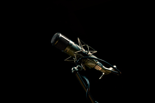 Microphone as used by The Beatles in Abbey Road Studio's, London.