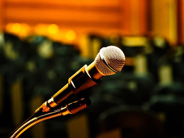 mikrofon - boxen live stock-fotos und bilder
