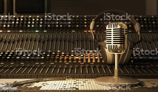 Microphone Stock Photo - Download Image Now