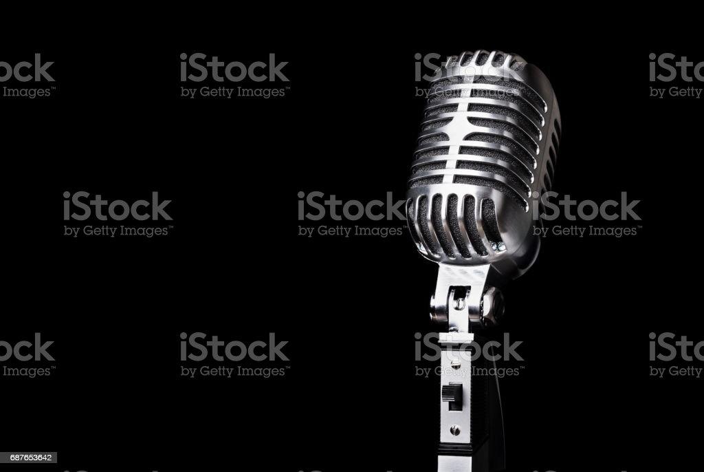 Microphone. stock photo