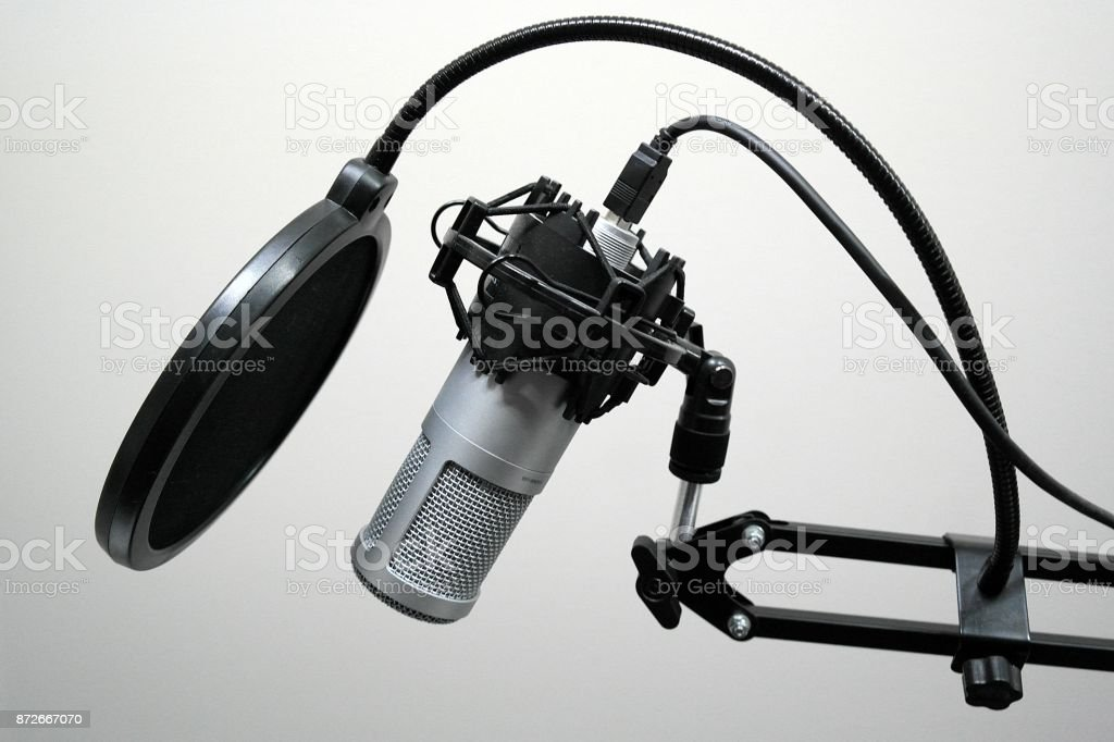 Voive over recording set up