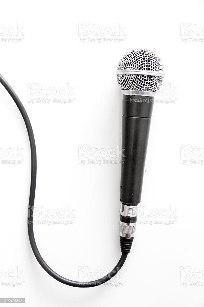 Mikrofon mit Kabel – Foto