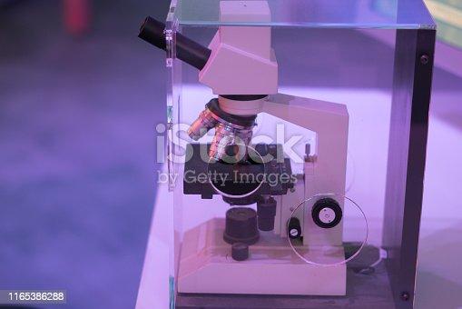 894029864istockphoto Microscope in the laboratory 1165386288
