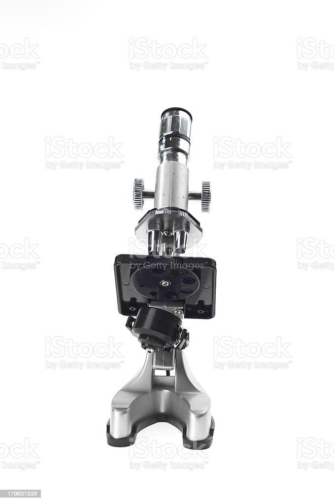 Microscope royalty-free stock photo