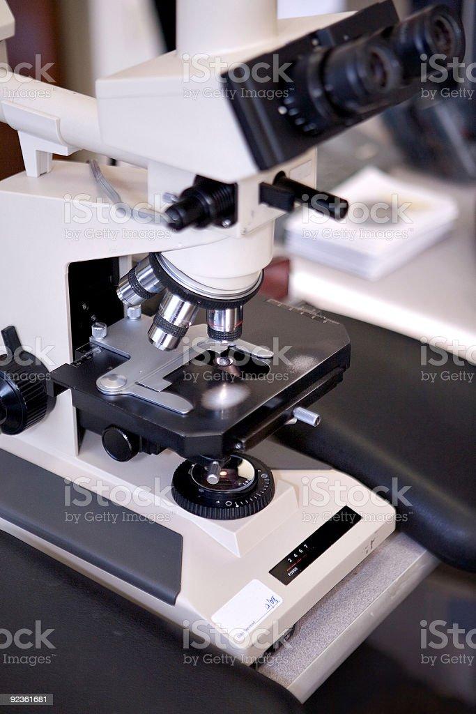 Mikroskop Lizenzfreies stock-foto