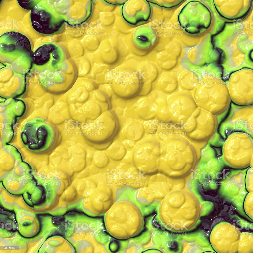 Microscopic plant cells royalty-free stock photo