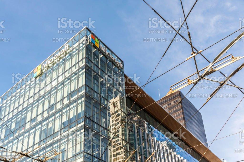 Microsoft Canada Development Center, Vancouver, Canada stock photo