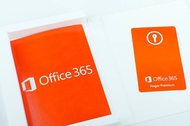 MIcrosoft Office 365 stock photo